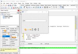 윈도우 프로그램 만들기 라자루스 컴포넌트 속성이란?