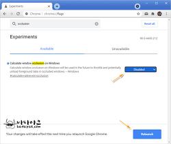 구글 크롬 멈춤 문제 해결 방법