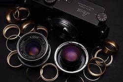 W-Nikkor 3.5cm F1.8 Nikon RF / Leica M Modification.