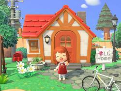메타버스 세계에서 만나는 LG Healthy Home 캠페인 스토리