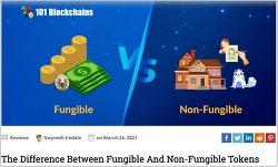 암호화폐 다음은 NFT?  The Difference Between Fungible And Non-Fungible Tokens