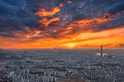 남한산성 소경&야경 파노라마 사진, 'Panorama Photo'
