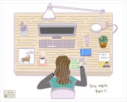 틈틈이 드로잉 #43 (by 아이패드)
