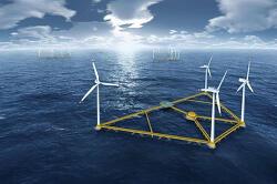 스웨덴의 투터빈 트윈웨이 부유식 풍력 프로젝트 Two-Turbine Floater to Spin Offshore Norway