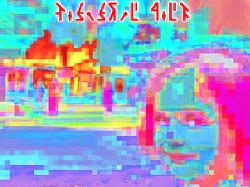 [Digital Art] Disaster Girl (재난 소녀) (pixel mixed)