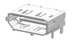 제품 기구 설계자를 위한 DP 단자 3D 데이터 공유합니다.