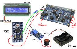 방사선 측정기 자작 - 가이거 계수기 DIY 모듈 조립과 아두이노 스케치 파일