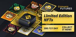 바이낸스 선물 한정판 NFT 토큰 받는 방법