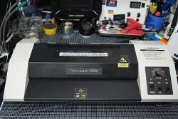 고장난 현대오피스 포토라미 3500 코팅기 자가 수리 - 딱딱딱 소리가 나고 열코팅 안됨