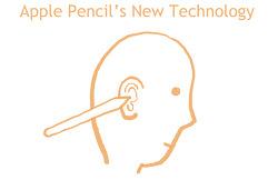 [아이디어] 애플펜슬(Apple Pencil)의 신 기술 (10~20년 후?)