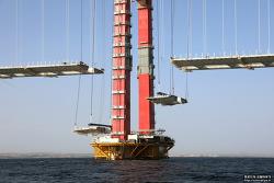 차낙칼레 교량 Deck 가설 완료 (2021.09.21)
