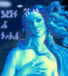 [Digital Art] Birth of Venus (비너스의 탄생)