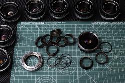 W-Nikkor 3.5cm F1.8 Compatible S-mount for Nikon S & Leica M (Reversible).