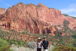 자이언 국립공원의 또 다른 협곡 맛보기, 콜롭캐년 전망대(Kolob Canyons Viewpoint)까지 드라이브