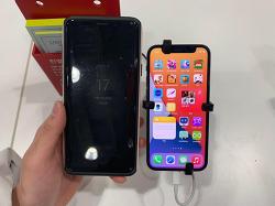 갤럭시S9+와 아이폰12, 아이폰12 미니 크기 비교