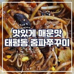 성남 쭈꾸미 맛집, '태평동 중파쭈꾸미'