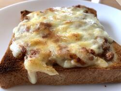 낫또 치즈 토스트