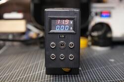 폐 컴퓨터 파워로 12V DC 전원공급장치인 6포트 파워 멀티탭으로 개조
