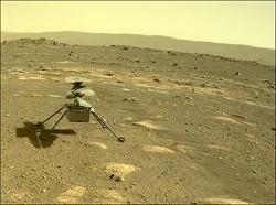 화성에 간 우주헬기, 영하 90도 혹한 견뎌내고 시험비행 준비