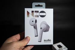 방수 IPX4등급 블루투스 이어폰, 수디오 니오 (SUDIO NIO) 핸즈온 및 이벤트 소식