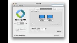 SynergyKM 64bit 지원 - macOS, Window에서 마우스 키보드 공유 해주는 프로그램