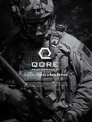 [Qore Performance] IceVents Classic & Aero Shoulder Pad & Aero Universal Holster Pad Review.(Eng)