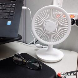 BLDC 모터 무선 미니 선풍기 사용후기