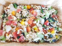 [6미균형영양식] 6곡밥 쿠스쿠스 샐러드 라이스