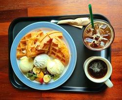 행주산성 카페(맛집), 목가적인 커피 볶는 집 '파스토랄', 아이스크림 와플 강추♡