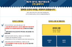 경기도 2차 재난지원금 10만원 신청 완료
