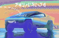 [사진편집] Tesla Cybertruck (테슬라 사이버트럭)
