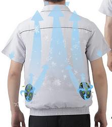 입는 에어컨-선풍기 점퍼 밖에서 일하시는 분들을 위한 웨어