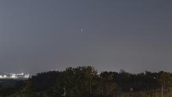 Venus and M45 Pleiades cluster (Timelapse)   금성과 M45 플레이아데스 성단 (타임랩스)