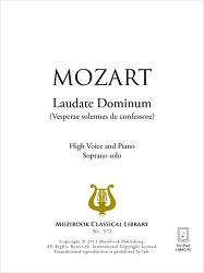 모짜르트,Laudate Dominum