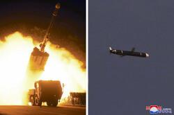 북한, 장거리순항미사일로 다시 은근한 무력시위…미 · 남 압박