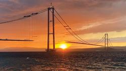 [ENR] World's Longest Suspension Bridge Takes Shape in Turkey