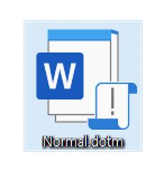 워드(Word) 2019(365): Normal.dotm 파일이 이상할 때