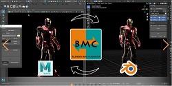 [Blender Plugin]Blender Maya Converter (Bmc) 1.0