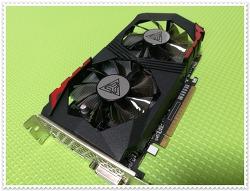 조용하고 가성비좋은 그래픽카드 ARKTEK 지포스 GTX1050 D5 2GB