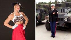 WWE 슈퍼스타 해병에서 레슬러 돌아온 미녀 디바 레이시 에반스
