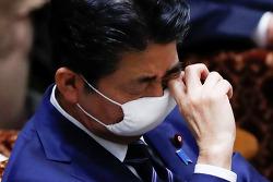 """""""아베 '지도력' 평가, 2012년 2차 집권 이후 최저"""""""