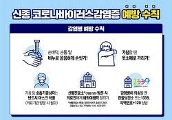 방송대와 함께하는 신종 코로나바이러스감염증 예방 수칙!