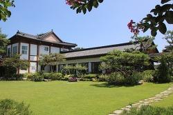 장성 카페 정원과 한옥 건물이 예쁜 구르미머무는