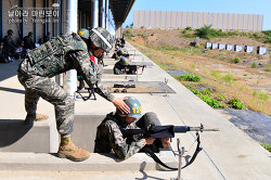 신병 1273기 1교육대 6주차 - 전투사격