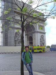 파리로 향하는 길...