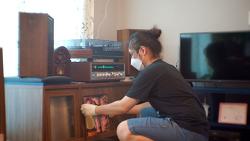 [vlog] 오디오가 맑아지는 청소 | 서른두 번째 브이로그