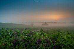 일출이 아름다운 안성목장