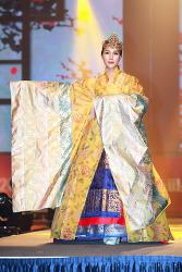 김정아, 우리옷 한복 패션쇼