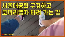 서울대공원 구경하고 코끼리 열차 타러 가요. [초등학생 유튜버 우리집 놀이터]