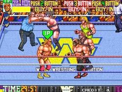 오락실게임, WWF 레슬페스트 바로 플레이